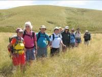 Us on way back down. Ria, Hazel, Doug, Tash, Emma, Bruce, Marjorie, Ken, Ian