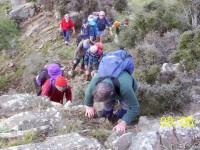 Sheer climb. Lex, Ria, Glenice, Who? Arthur, Who? George