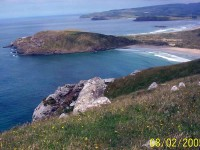 Peninsula from hill Nth of Cannibal Bay