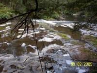 Catlins River smooth bed-rock