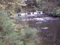 River falls. As far as we went.