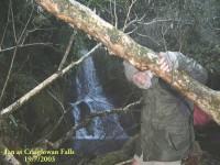 Craiglowan Falls. Ian