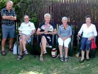 Happy Hour at Hanmer. Nelson, Les, Margaret, Bev H, Bev M