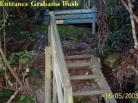 Former Grahams Bush entrance