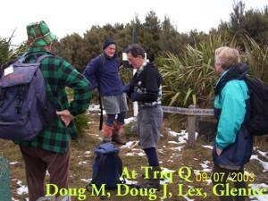 Trig Q. Doug M, Doug J, Lex, Pat