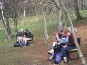 Restful surroundings