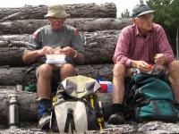Log Lunch. Doug, George