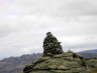 Cairn on Knobby Range. (Pat pic)