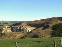 Milburn Limestone Quarry. (Bill pic)