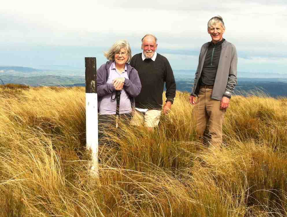 At the Maungatua Trig (2)