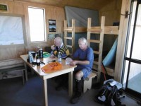 2 Lunch inside Leaning Lodge (Ken pic and caption)