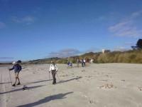 Entering beach from Livingstonia Park.