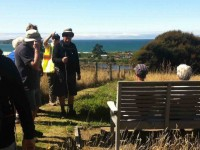 The seat at the to of the QEII bush walk