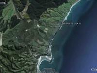 GPS of route, courtesy Bruce.