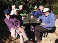 Ramblers enjoying the sunc
