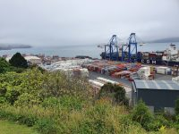Port chalmers from aboveres
